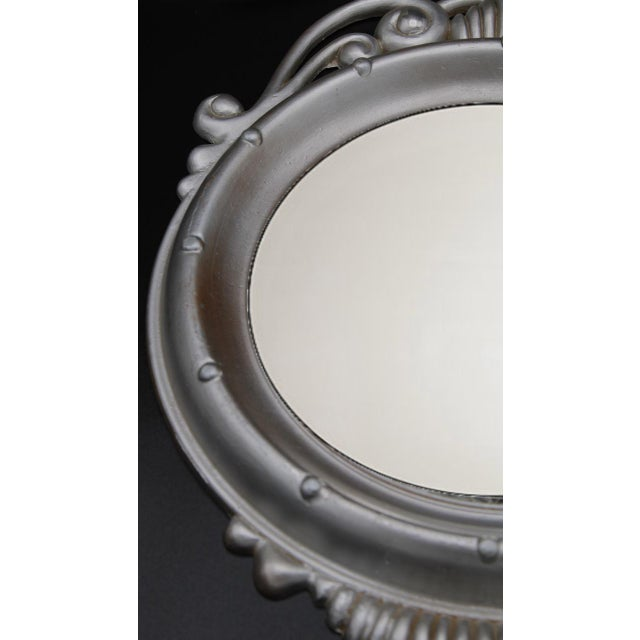 Mid-20th Century Federal Eagle Convex Mirror For Sale - Image 4 of 6