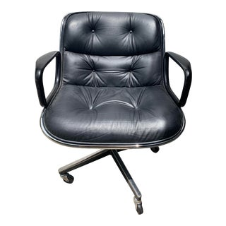 1970s Pollock Executive Chair by Knoll For Sale