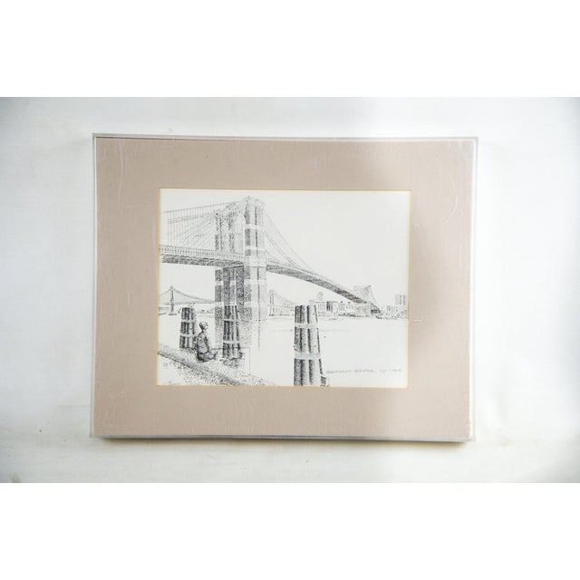 Bruce Armon New York Ink Sketch Prints - Set of 7 For Sale - Image 11 of 13