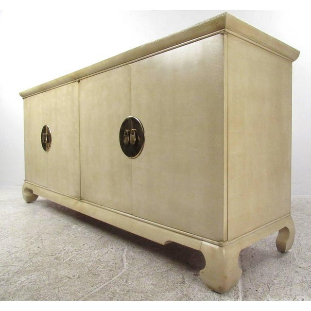 Asian Drexel Heritage Chinoiserie Sideboard For Sale - Image 3 of 7