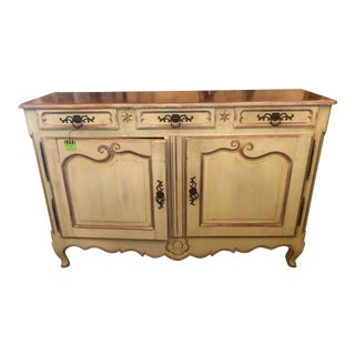 French Painted Sideboard For Sale