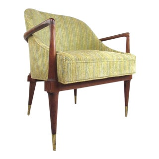 Vintage Modern Armchair after Adrian Pearsall For Sale