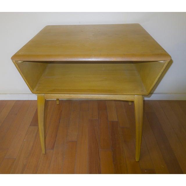 Mid-Century Modern Mid-Century Modern Heywood Wakefield Side Table For Sale - Image 3 of 4