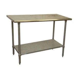 Steel Restaurant Table For Sale