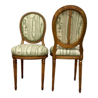 Mid 19th Century Antique French Side Chairs - a Pair For Sale