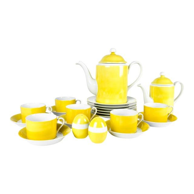 Vintage Lemon Porcelain Luncheon Service - Image 1 of 11