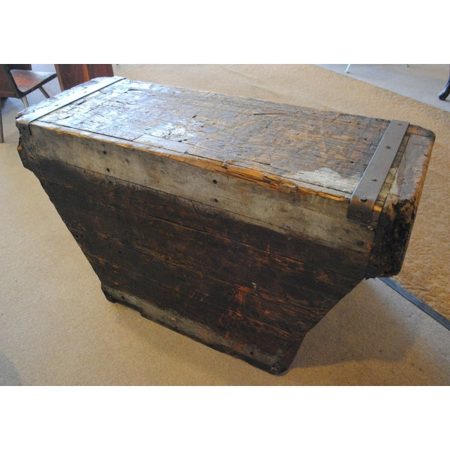 Industrial Foundry Mold Side Table - Image 7 of 8