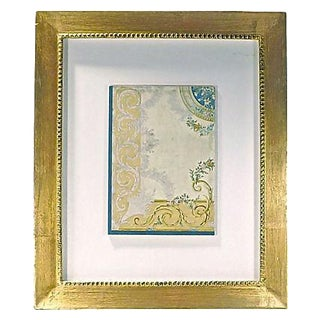 Antique Framed Shadowbox Aubusson Rendering