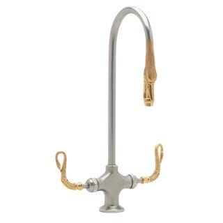 P. E. Guerin Swan Sink Faucet For Sale