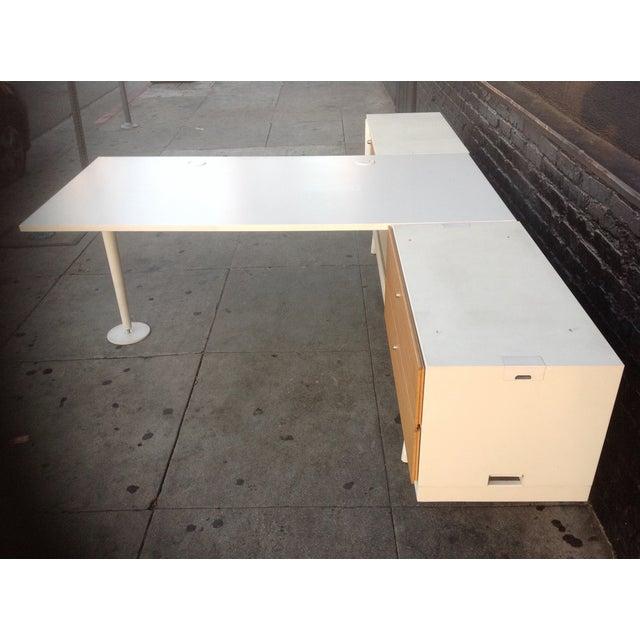 Vitra Level 34 Modular Office Desk For Sale - Image 7 of 9