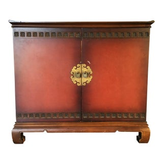 1960s Asian Inspired TV Cabinet For Sale