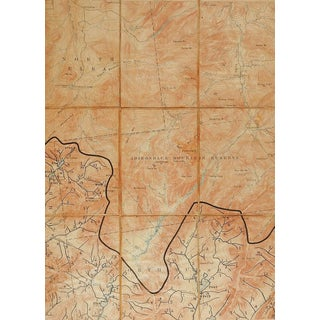 Mt. Marcy, New York 1894 Us Geological Survey Folding Map For Sale