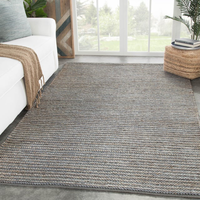 2010s Jaipur Living Aleah Natural Gray Area Rug - 8′ × 10′ For Sale - Image 5 of 6