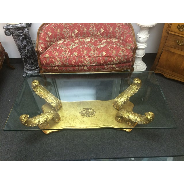 Grosfeld House-Style Plume Coffee Table - Image 7 of 8