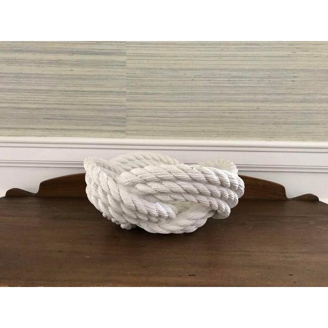 Cast Ceramic Rope Bowl - Image 2 of 4