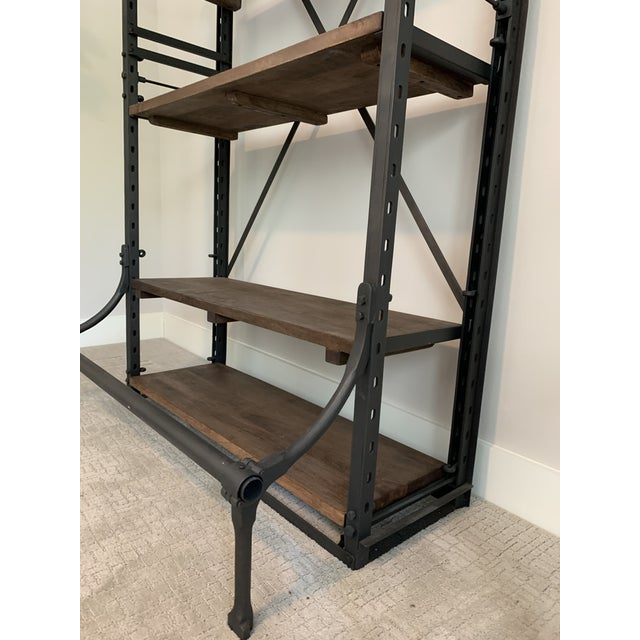 Restoration Hardware Restoration Hardware French Library Bookcases - a Pair For Sale - Image 4 of 5