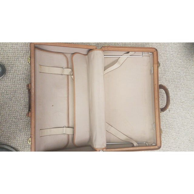 Mid-Century Modern Hartmann Leather Suitcase For Sale - Image 4 of 6