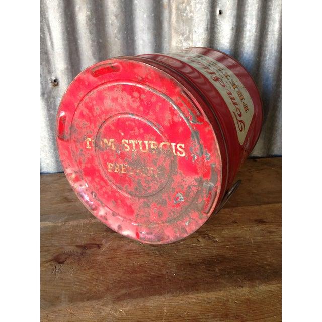 Vintage Large Tom Sturgis Pretzel Container - Image 5 of 8