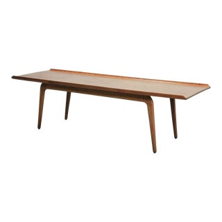 Mid-Century Design Solid Teakwood Coffee Table by Aksel Bender Madsen for Bovenkamp, 1960s For Sale