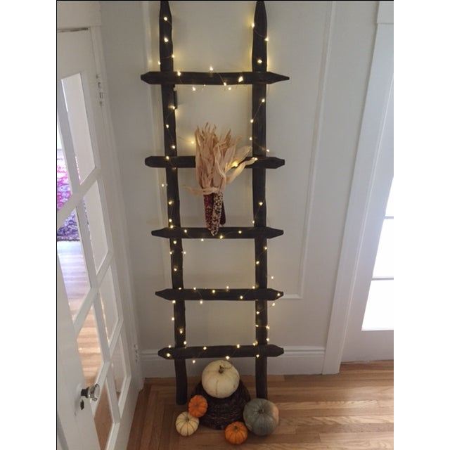 Rustic Wooden Ladder - Image 5 of 8