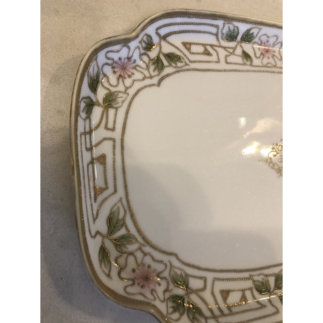 Morimura Nippon Moriage Dressing Table Tray For Sale In New York - Image 6 of 11
