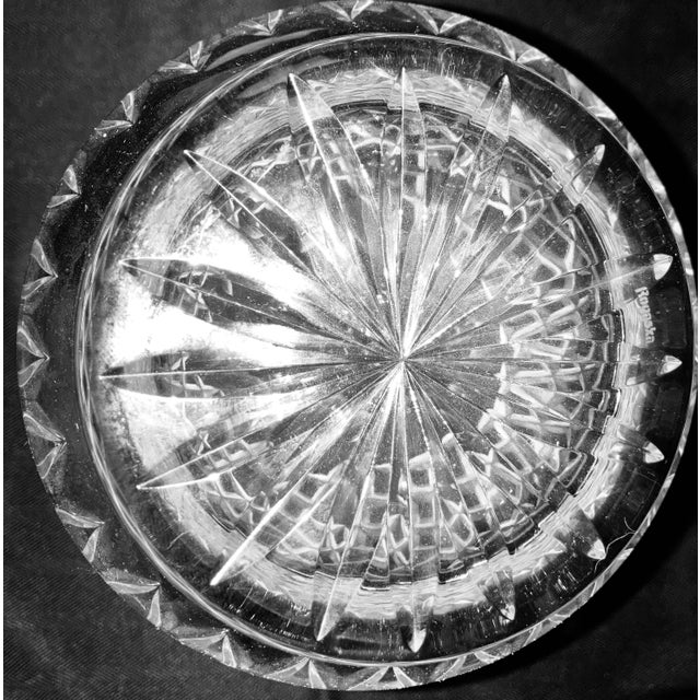 Glass Vintage Rogaska Gallia Crystal Decanter For Sale - Image 7 of 13