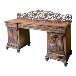 Antique Rosewood Anglo-Indian Server For Sale