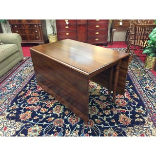 1970's Vintage Pennsylvania House Cherry Drop Leaf Dining Table Preview