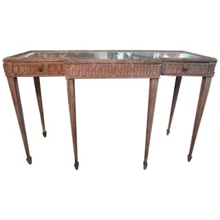 1920s Antique French Louis XVI Style Neoclassical Console For Sale