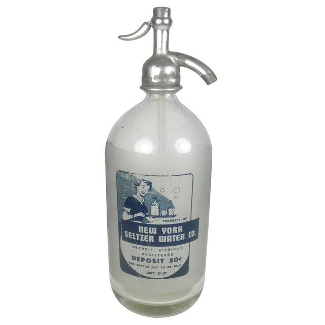 Vintage New York Seltzer Water Co. Bottle - Image 1 of 4