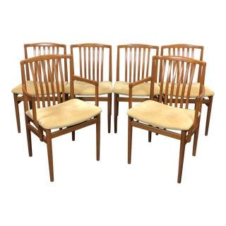 Vamdrup Stolefabrik Dining Teak Chair - Set of 6 For Sale