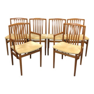 Vamdrup Stolefabrik Dinning Teak Chair - Set of 6 For Sale