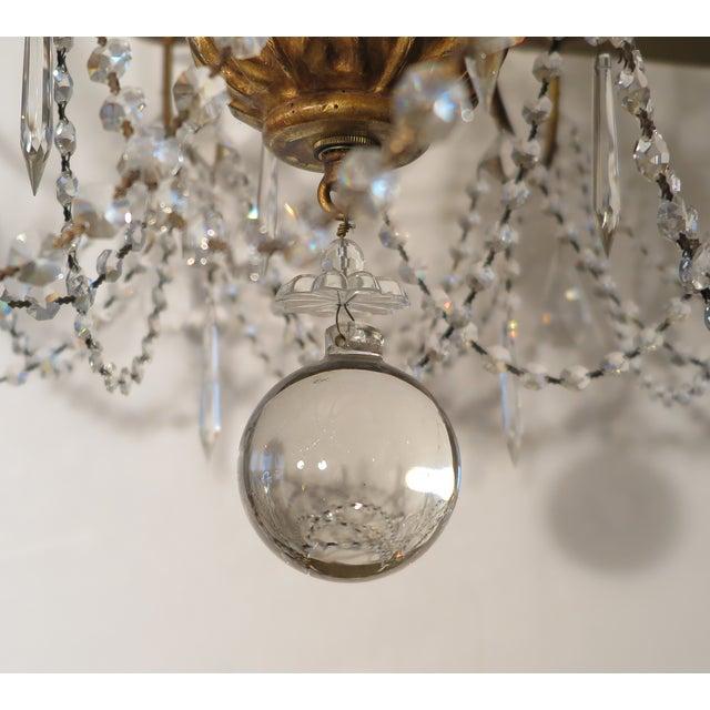 Paul Ferrante Daphne Chandelier in 22 Karat Gold For Sale In New York - Image 6 of 7