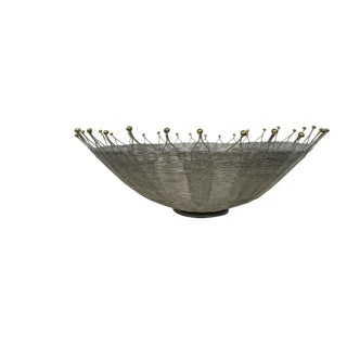 1980s Modern Michael Aram Wire Bowl For Sale