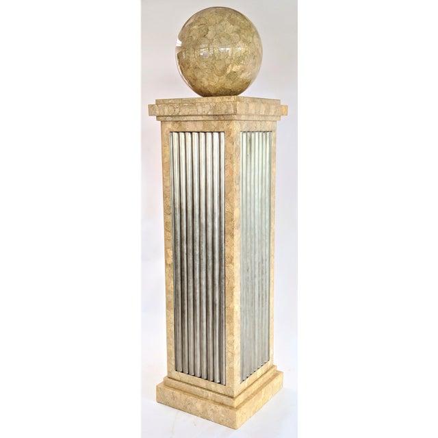 Enrique Garcel Tessellated Stone Pedestal For Sale - Image 12 of 12