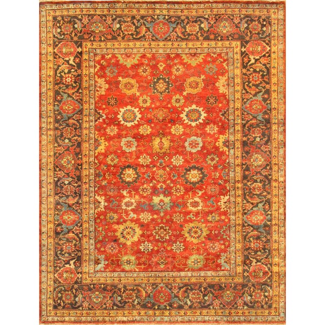 "Pasargad Mahal Lamb's Wool Area Rug- 9' 8"" X 14' 0"" For Sale"