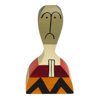 Alexander Girard Wooden Figurine / Doll W/ Sad Face For Sale