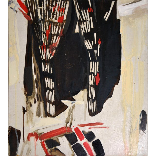 2010s Abstract Painting, Sake at Bar Vitelli For Sale - Image 5 of 5