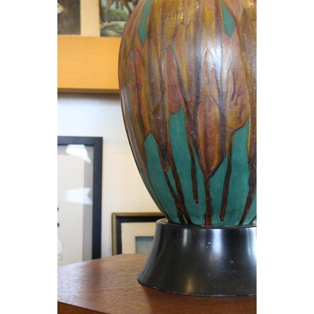 Ceramic Gourd Shaped Lamp - Image 3 of 6