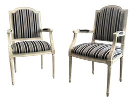Image of Newly Made Louis XVI Accent Chairs