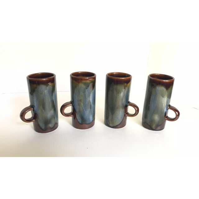 Caffe d'Vita Espresso Mugs - Set of 4 For Sale - Image 4 of 4
