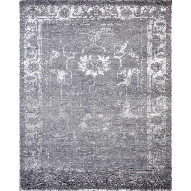 Pasargad Silk & Wool Fusion Rug - 8′ × 10′ - Image 1 of 5