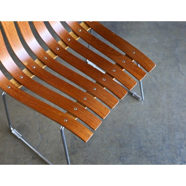 1960s Hans Brattrud Scandia for Hove Mobler Dining Chairs - Set of 4 For Sale - Image 10 of 12