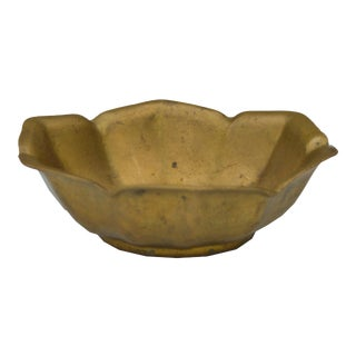 Moroccan Brass Dish For Sale