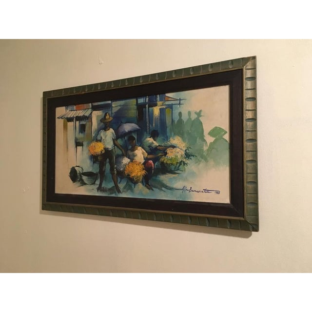Impressionism Original Impressionist Painting by Alfredo Buenaventura For Sale - Image 3 of 6