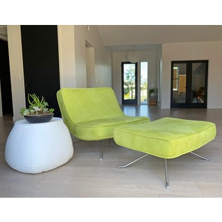 Ligne Roset Pop Chair and Ottoman by Christian Werner Preview