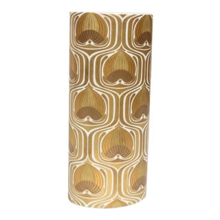 1970s Porcelain Cylinder Vase by Bjorn Wiinblad for Rosenthal For Sale