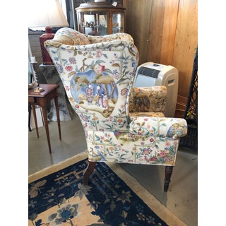 Early 19th Century Antique William IV English Wingback Armchair Preview