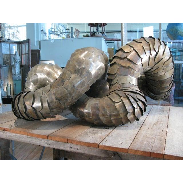 1970s Ad Infinitum' Sculpture by Artist Joseph Kurhajec For Sale - Image 5 of 11