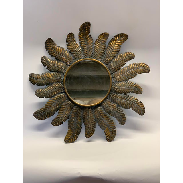 Spanish Sunburst Wall Mirror For Sale In West Palm - Image 6 of 6